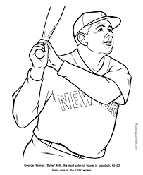 Small Picture Free printable Baseball Coloring Sheets Sandlot birthday