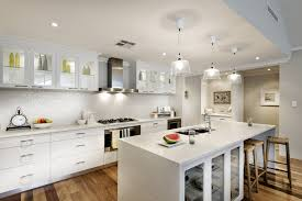 Kitchen Wood Floor Kitchen Modern White Kitchens With Dark Wood Floors Deck Home