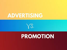Advertising Vs Promotion With Comparison Chart Marketing
