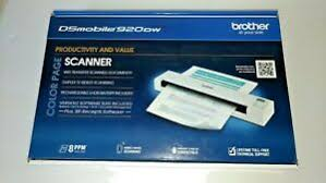 New Brother Ds 920dw Wireless Mobile Color Page Scanner Ebay