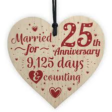 dels about 25th wedding anniversary gifts silver twenty five years gift for husband wife