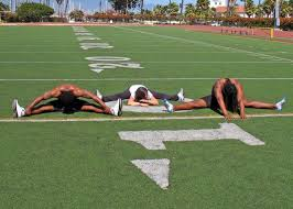 Image result for athletes doing yoga