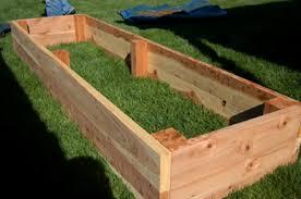 building a garden box. Cedar Garden Boxes Building A Box