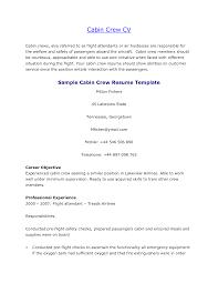 Cabin Crew Resume Format Fresher Resume Format