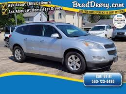 used chevrolet traverse right