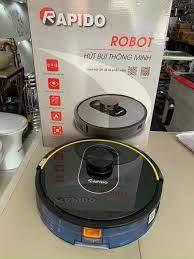 Robot hút bụi và lau nhà thông minh Rapido R8S, điều khiển tiếng việt kết  nối wifi, đèn UV diệt khuẩn, lực hút mạnh mẽ