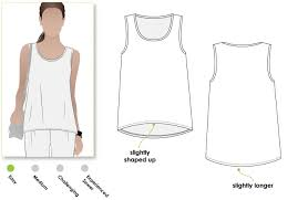Tank Top Pattern Extraordinary Evie Knit Top Style Arc