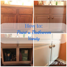 Painted Bathroom Cabinets Painting Bathroom Cabinets With Chalk Paint Flixfocus
