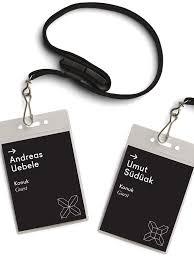 Passes Mockup Security Crew Tag Identity Card Design