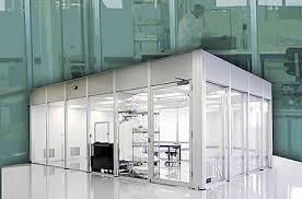 Acoustical Noise Absorbing Ceiling TilesClass 100 Clean Room Design