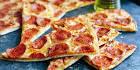 рецепт пиццы на кефире без дрожжей в духовке рецепт с фото