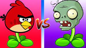 Plants vs Zombies: Mod ZomPlant vs PvZ Angry Birds | Team Plants vs Zombies  - YouTube