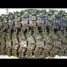 <b>Motorcycle</b> ice tires FRP studded <b>Left Right</b> turn. for sale in Beecher ...