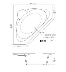 soaking tub dimensions google search b inside plan japanese freestanding bathtub sizes corner renovation