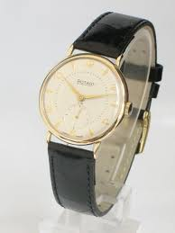 superb solid 9ct gold rotary two tone dial mens watch c1954 55 superb solid 9ct gold rotary two tone dial mens watch c195455