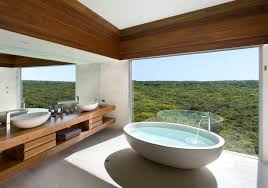 Southern Ocean Lodge, Osprey Pavilion Luxury Bathrooms