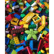 Gạch non Lego duplo lắp ráp, HÀNG CHƯA VỆ SINH, gạch xếp hình bán theo kg  tại TP. Hồ Chí Minh