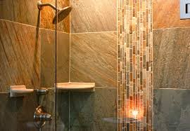remodeled bathrooms with tile. Incredible Design For Small Bathroom Remodel Pictures : Marvelous Decoration With Grey Slate Tile Wall Remodeled Bathrooms