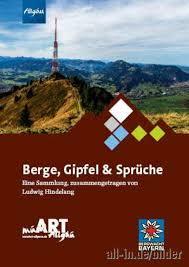 Allgäu Berge Gipfel Und Sprüche Kempten