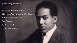 black lives mattered to langston hughes