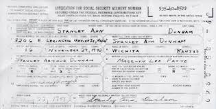 Fraudulent Mama We A United People Social Number The Obama's States Security Too Had Of