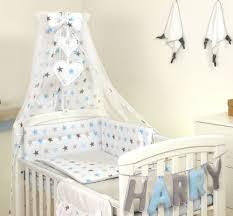 grey back baby bedding set cot or cot
