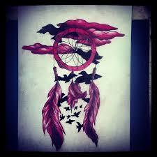 Purple Dream Catcher Tattoo dream catcher and birds by MelllyxD on DeviantArt 45
