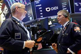 Didi stock jumps 12% day after modest ...