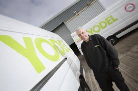 Yodel Design Watch A Yodel Delivery Driver Drift His Van Around A
