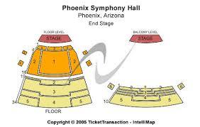 Phoenix Symphony Hall Seating Chart Elcho Table
