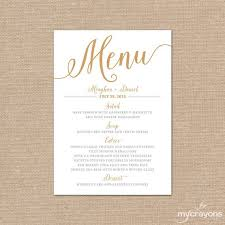 best 25 wedding menu cards ideas on pinterest wedding menu Wedding Reception Menu Cards gold wedding menu card, printable wedding menu bella script diy printable menu cards gold wedding menu printable wedding reception menu card template