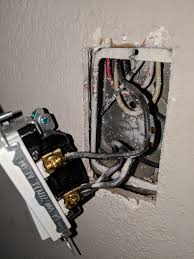 Wiring A Light Switch Red Wire What Is Going On With These Wires At The Wall Light Switch