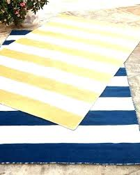 white outdoor rug blue striped outdoor rug rugby stripe indoor outdoor rug 5 x blue and