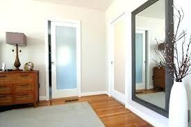 frosted glass pocket door interior doors o sliding australia