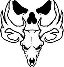 Small Picture Bone Collector Deer Skull Logo Deer heads Pinterest Skull