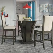 kangas 5 piece round counter height dining set
