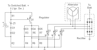 help regulator rectifier circuit for my motorcycle