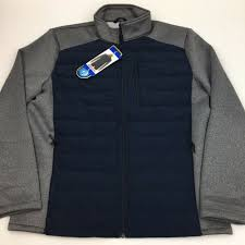 32 Degree Ultra Light Jacket New Mens 32 Degrees Heat Ultra Light Down Jacket Blue Gray Large Ebay