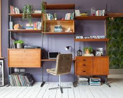 eclectic design home office. Exellent Home Inspiration For A Large Bohemian Study In London With Purple Walls Painted  Wood Flooring To Eclectic Design Home Office S