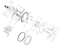 hansgrohe axor allegroh finish set for thermostatic bath shower mixer 36720000 spares breakdown diagram