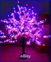 Outdoor LED Maple Tree Christmas Light 696pcs LEDs 5ft/1.5m RGB Changing  Color