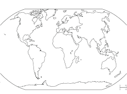 World Map Coloring Sheet World Map Coloring Page With Countries Fun