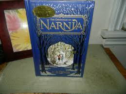 the chronicles of narnia by c s lewis barnes noble leather bound book sealed