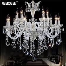 elegant big white chandelier white chandelier authentic all crystal chandelier lighting big