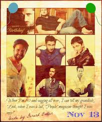 Happy Birthday Gerard Butler November 13 Event A Friend Is A Gift