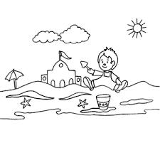 Zomer Vakantie Kleurplaten We Hebben Er Een Heleboel Leuk Voor Kids