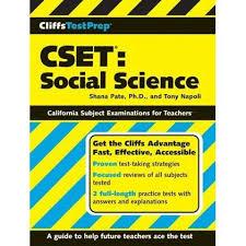 CliffsTestPrep CSET: Social Science by Shana Pate