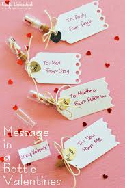 handmade message in a bottle valentines 25 sweet gifts for him for valentine s day