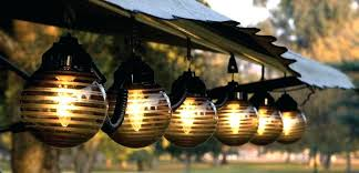 Tiki Lantern String Lights Large Image For Solar Patio Lighting