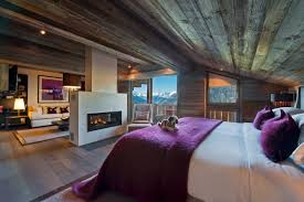 Lodge Bedroom Decor Alpine Chic At Its Best 30 Examples Luxury Accommodations